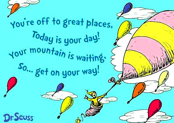oh the places youll go by dr seuss mature themes and light hearted rhymes